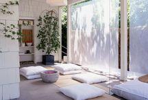 Meditation and yoga zone
