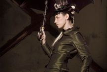 Steamy Punk / A collection of steampunk favorites incorporated into wardrobe and home.