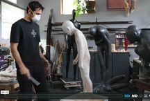 Inside the #Sculptors Studio - Emil Alzamora