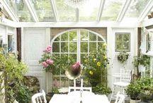 patio et verrière
