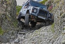 Land Rovers/Jeeps/off road   / by Scubaduda