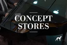 Concept Stores / Find our concept stores: Sacoor Kids and Sacoor Brothers Outlet.
