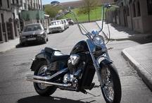 Motos , Chopper y Bobber / #motos #chopper #motor #custom #motocycles