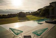 piscinas / Diseño de piscinas tanto rústicas como modernas