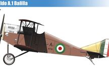WW I ITALY MILITARY AIRPLANES