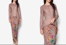 full dress batik