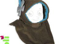 Cagoules enfant et bébé / Des cagoules en polaire pratiques, efficaces pour protéger vos bambins, et dès le plus jeune âge.