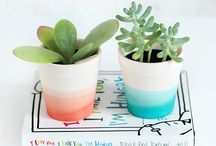 DIY flower pots | decor