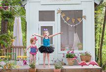 Zahradní domečky pro deti