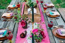 #bohowedding / ideas for boho/boho-chic wedding