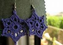 Free Crochet Jewelry Patterns / Free patterns for crochet jewelry.