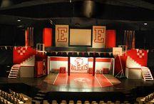 High School Musical sets