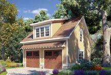 Garage Plans with Loft / Detached Garage Plans with a Loft