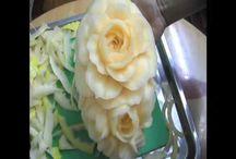 friut carving /vyřezávání z ovoce a zeleniny