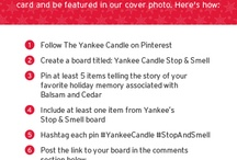 Yankee Candle Stop & Smell / #YankeeCandle #StopAndSmell / by Patti Williams