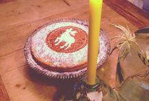 Kerst cake / Kerstcake #christmas cake #hert