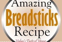 bread sticks recipes