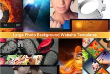 Web Design With Large Photo Backgrounds