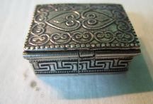 925 Sterling Silver Boxes&Snuff boxes