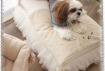Dog Beds / Dog beds for the pampered pooch. / by Old Mill Doodles