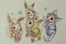 illustrations de pokemons