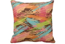 PILLOW Fight!! ☁️ / I love assorted Throw Pillows...  / by LaDonna Parker-Clark