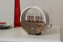 Nixie Tube Clock Fallout Retro USB Steampunk