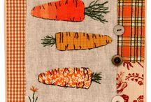 Печворк Огород, деревенский стиль