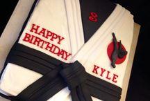 Martial arts birthday party