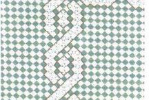 ponto xadrez ou bordado español