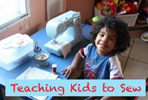 kids sewing / Ideas for kids' clothes and for projects for kids.