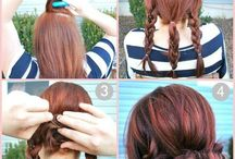 hairstyles / by Sarah Lowery