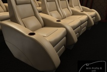 The B Series / Our B Series Models / by Elite Home Theater Seating