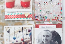 Life.Love.Paper prints + stamps