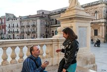 """An unique and romantic proposal / A special place, Ortigia, where to ask the important question """"Will you marry me?"""""""