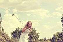 Golfing weddings