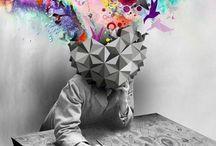 Tekenen een hoofd vol dromen