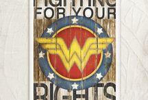 Wonder Woman / by Suzanne Hamrick