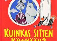 Luettavaa (Books) / Books I want to read with my kid