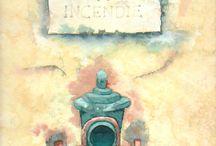 cols pics / watercolour