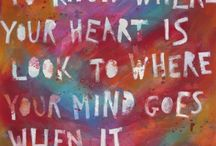 words / of love, of hope, of positivity