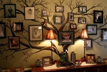 The Castle Family Memorabilia Room. / This is a room that is filled with Family Memorabilia and the Family Tree and Gallery of Family photos. Please pin to your hearts content.