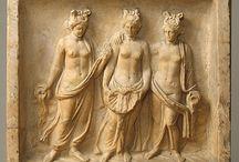 obrazy sochy