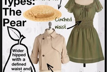 pear shape body clothes