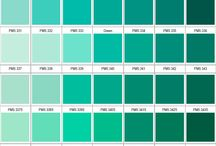 Colour chart ideas