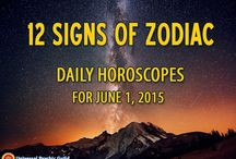 Daily Horoscopes by AstroGirl / Live your life to the fullest by living it one day at a time. Always be in the know with our Daily Horoscopes forecast! Visit our page http://www.psychicguild.com/Daily-Horoscope/