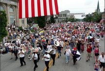 The Brass Fest Parade / Featuring past parades of the Festival