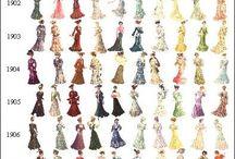 Historische Kleidung - Bekleidung im Laufe der Zeit   Ahnenforschung, Genealogie & Familienforschung
