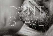 Beards! <3 / Homem com cara de homem.