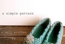 crochet :: slippers & socks